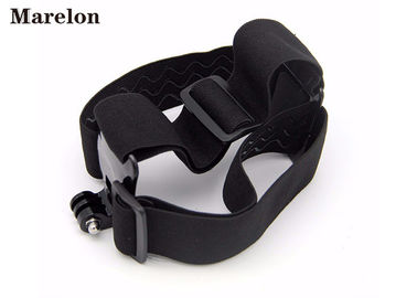 Serat Karbon Fiber Gopro Head Strap Elastic Adjustable Skin Contact Handal