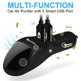 2 USB Port Smart Car Charger Dengan Ionizer Ionic Air Cleaner, Pembersih Udara Mobil