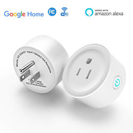 Wifi kecil Smart Plug Socket Amazon Echo Asisten Kompatibel Remote Control Plug